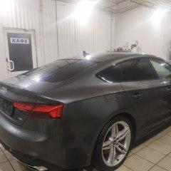 Тонировка задней полусферы Audi A5