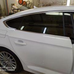 Тонировка задних стекол Audi A5 пленкой NDFOS 5%