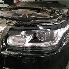 Оклейка оптики Audi A5