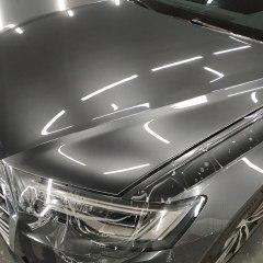 Оклейка капота Audi A6 полиуретаном