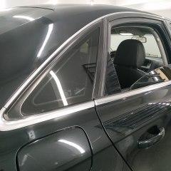 Антихром дверных молдингов Audi A6