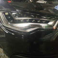 Защита фар Audi A6 плёнкой Spectrol
