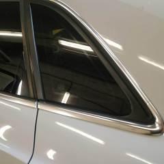 Покрытие частей Audi Q3 в черный глянец
