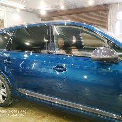 Тонировка задних стекол Audi Q7 пленкой Llumar ATR 5%