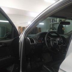 Тонировка лобового стекла Audi Q7 плёнкой NDFOS