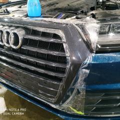 Защита решетки Audi Q7