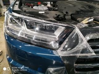 Защита фар Audi Q7