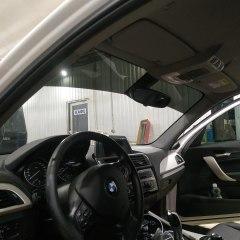 Атермальное тонирование и полоса на лобовом стекле BMW 1