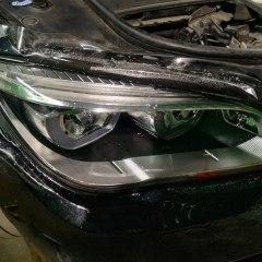Бронирование фар BMW F01
