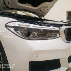 Бронирование фар BMW GT 630d