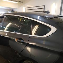 Хромированные детали BMW GT в черный глянец
