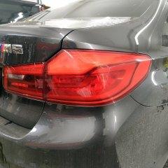 Затемнение и защита задней оптики BMW M5