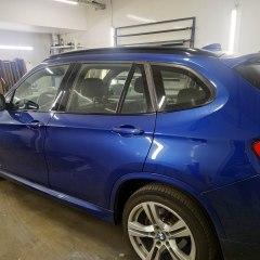 Передняя и задняя тонировка BMW X1