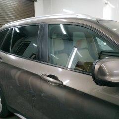 Тонировка передних и задних стекол BMW X1