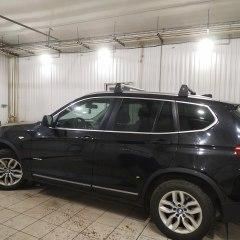 Профессиональная тонировка задних стекол BMW X3