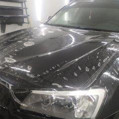 Антигравийная защита капота BMW X3