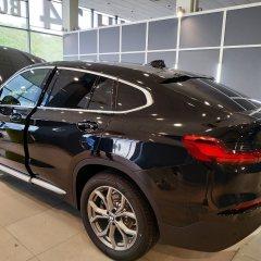 Оклейка тонировочной пленкой задней части BMW X4