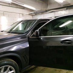 Тонирование задней и передней части BMW X5