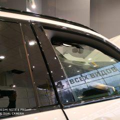 Тонирование передних боковых стекол BMW X5