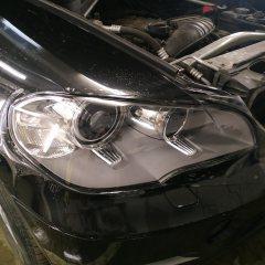 Оклейка фар BMW X5