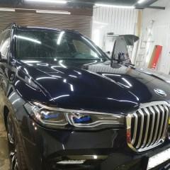 Защита передних элементов BMW X7 пленкой