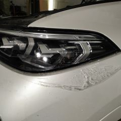 Оклейка фар BMW Х7 полиуретаном SunTek