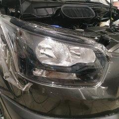 Бронирование оптики Ford Transit плёнкой