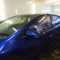 Тонирование стекол Honda Civic пленкой UltraVision Mystique