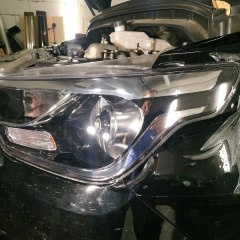 Защитная оклейка передней оптики Hyundai Grand Starex