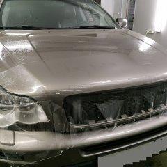 Бронирование капота и фар Hyundai Santa Fe