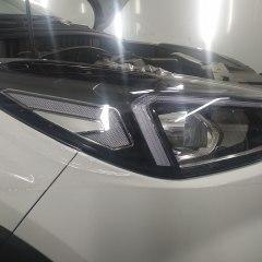 Защита крыши, капота и оптики Hyundai Tucson пленкой