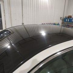 Покрытие крыши Infiniti Q50 в черный глянец