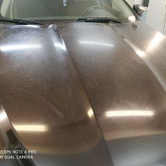 Замена пленки на капоте Jaguar