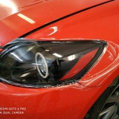 Защита оптики Lexus RX пленкой Spectrol