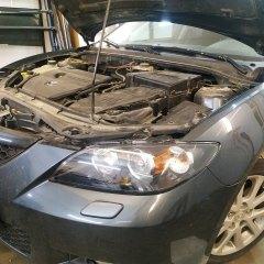Затемнение и защита фар Mazda 3