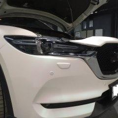 Покрытие бампера Mazda CX5 в перламутр