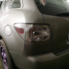 Тонирование задних фонарей Mazda CX7
