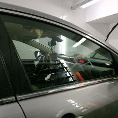 Тонирование передних стекол Mazda CX7.