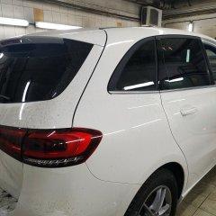 Тонирование задних стекол Mercedes-Benz B