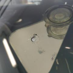 Устранение скола на стекле Mercedes-Benz C