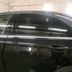 Затемнение задних стекол Mercedes-Benz E
