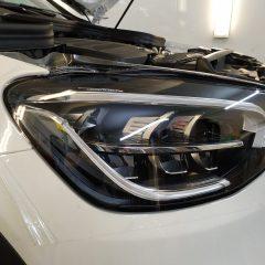Оклейка передней оптики Mercedes-Benz GLK
