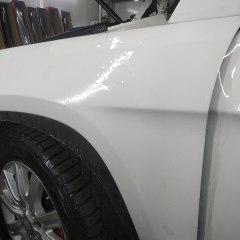 Бронирование бортов Mercedes GLS 500 полиуретаном