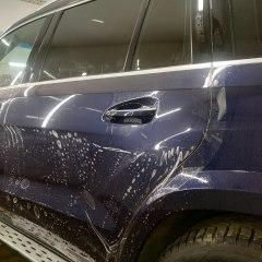 Оклейка капота и дверей Mercedes-Benz GLS полиуретаном