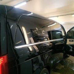 Тонирование стекол микроавтобуса Mercedes-Benz