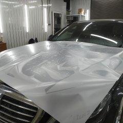Бронирование капота и крыльев Mercedes-Benz S 222