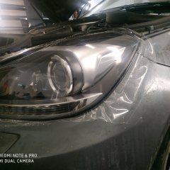 Бронирование фар Mercedes-Benz W204