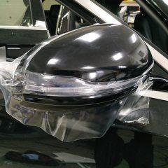 Защита переда Mercedes C- класс