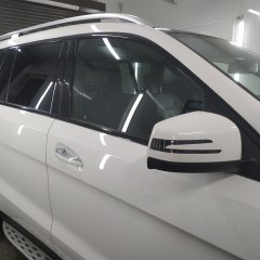 Антихром молдингов Mercedes GLS