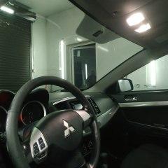 Тонировка лобового стекла Mitsubishi Lancer 10